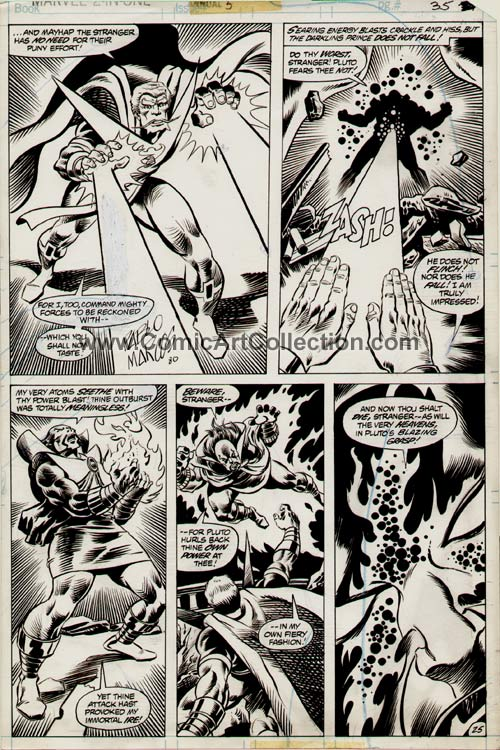 Marvel Two-in-One Annual #5 page 25 by Alan Kupperberg / Pablo Marcos