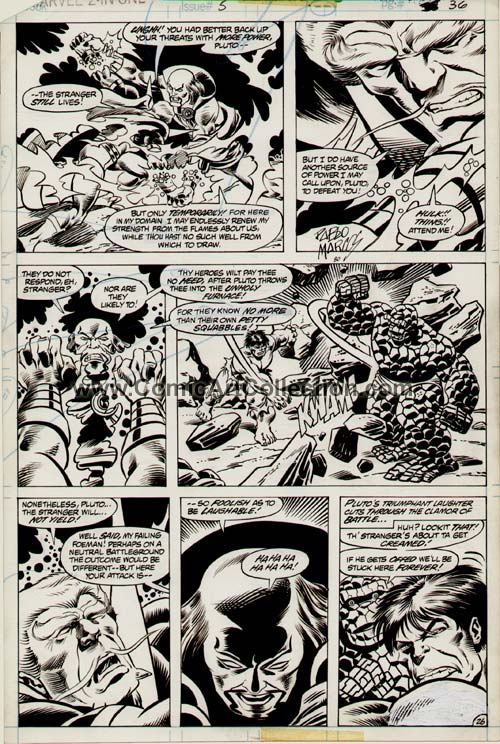 Marvel Two-in-One Annual #5 page 26 by Alan Kupperberg / Pablo Marcos