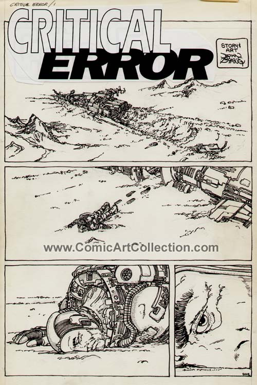 Critical Error page 1 by John Byrne
