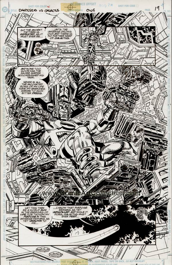 Darkseid vs Galactus: The Hunger page 19 by John Byrne