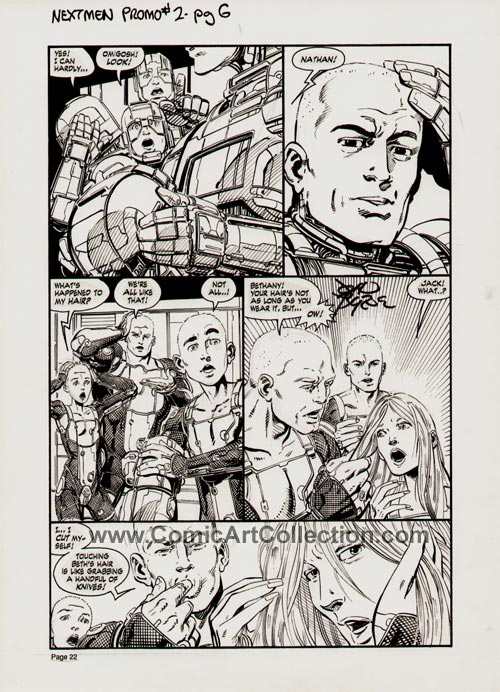 Dark Horse Presents #55: Next Men page 6 by John Byrne