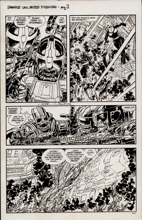 San Diego Comic-Con Comics #2: Danger Unlimited Preview page 3 by John Byrne