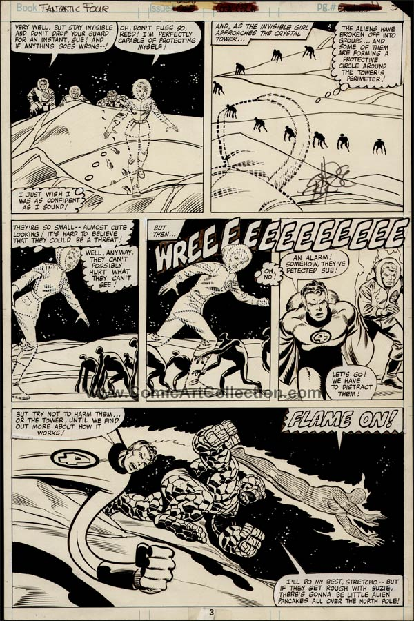 Fantastic Four #221 page 3 by John Byrne / Joe Sinnott