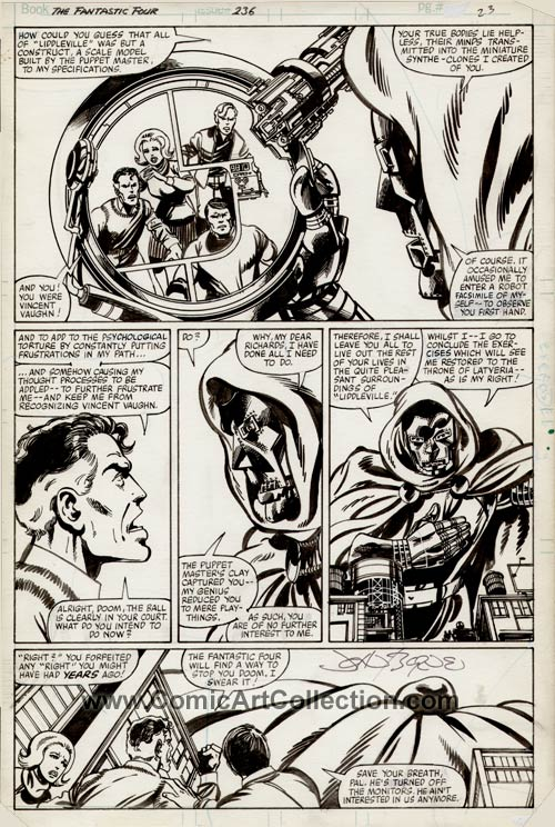 Fantastic Four #236 page 20 by John Byrne