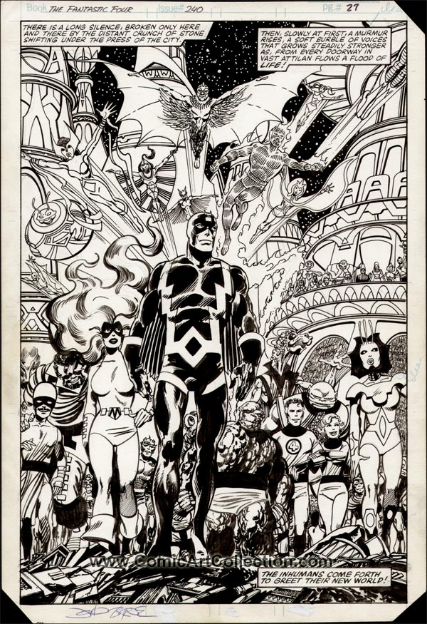 Fantastic Four #240 page 21 by John Byrne