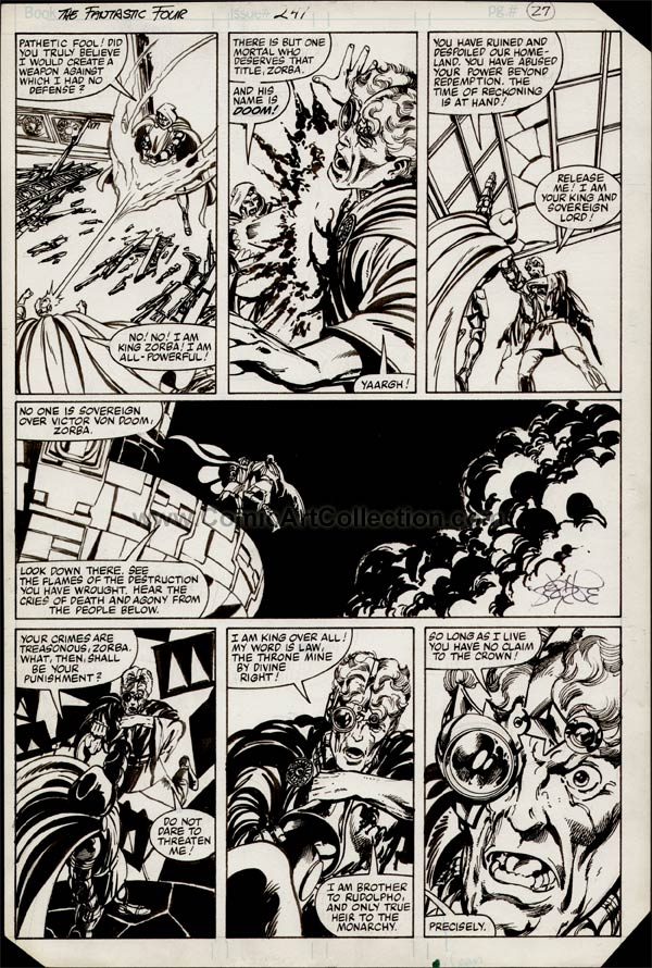 Fantastic Four #247 page 21 by John Byrne