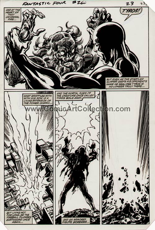 Fantastic Four #260 page 17 by John Byrne
