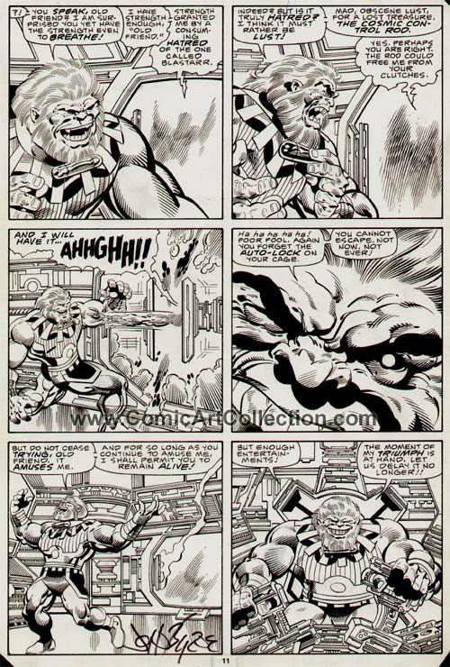Fantastic Four #289 page 11 by John Byrne / Al Gordon