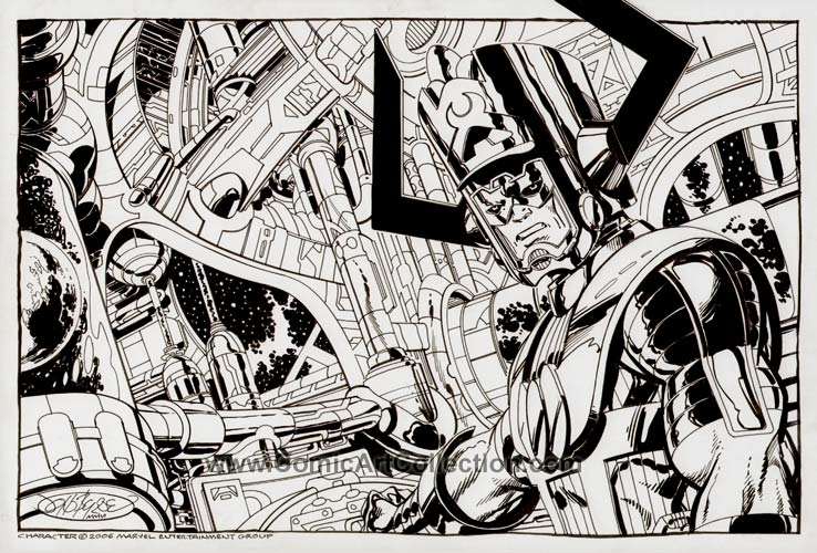 Galactus Commission by John Byrne