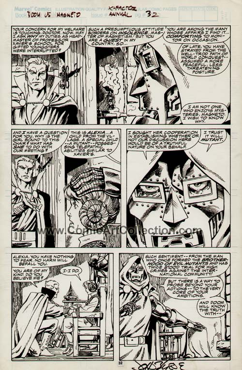 X-Factor Annual #4 page 32 by John Byrne