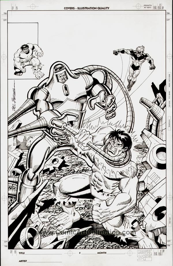 Incredible Hulk #245 Cover Commission by Sal Buscema