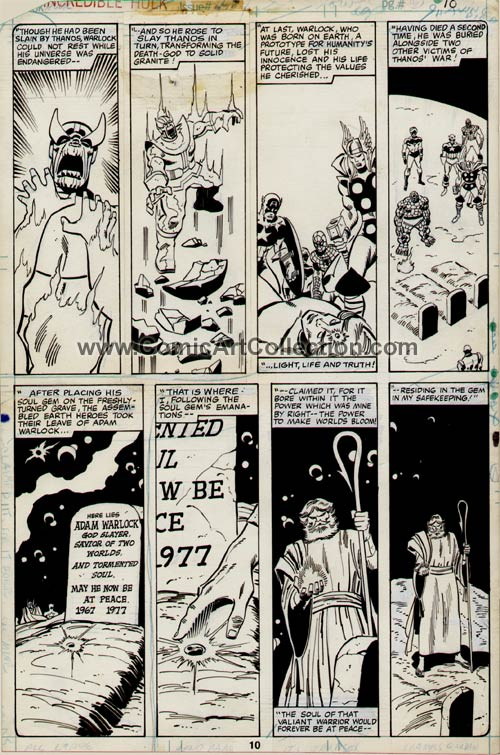 Incredible Hulk #248 page 10 by Sal Buscema