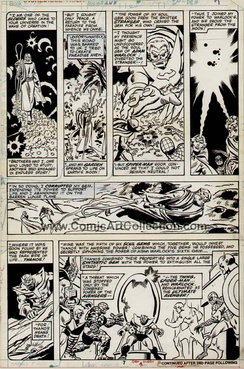Incredible Hulk #248 page 7 by Sal Buscema