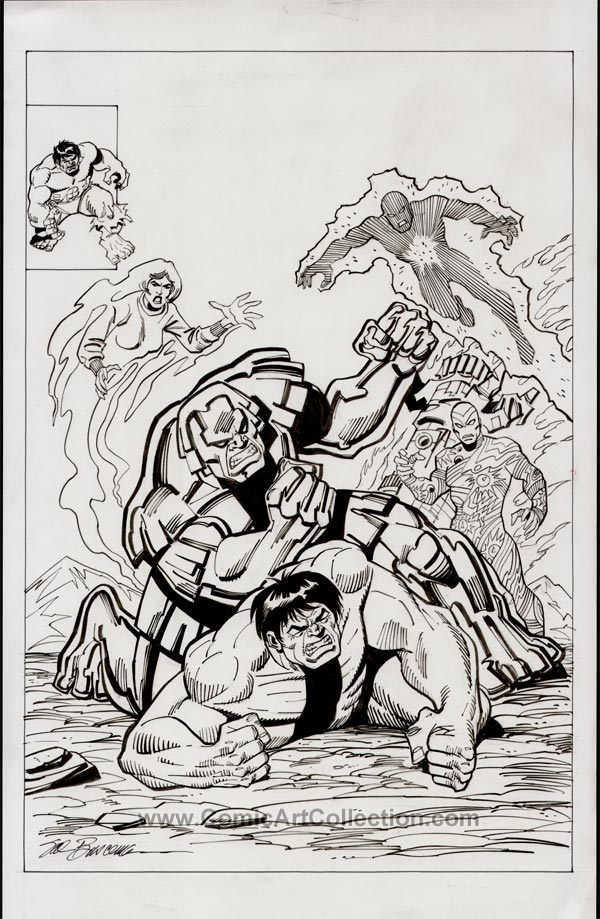 Incredible Hulk #254 Cover Commission by Sal Buscema