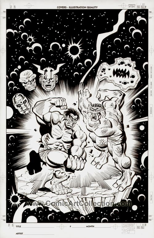 Incredible Hulk #270 Cover Commission by Sal Buscema