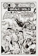 The Brave and the Bold #120 Cover Commission